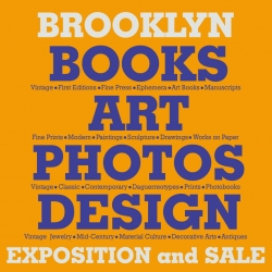 Brooklyn Books, Art, Photo, Design Exposition and Sale