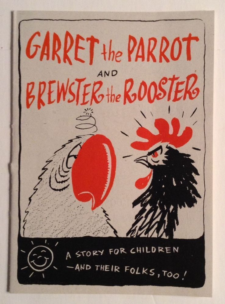 Garret the Parrott and Brewster the Rooster. Wonder Bread.