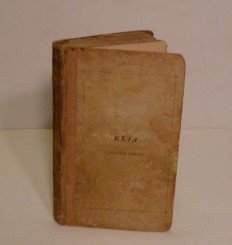 ELIA; Essays- Which Have Appeared Under That Signature In The London Magazine. Charles Lamb.