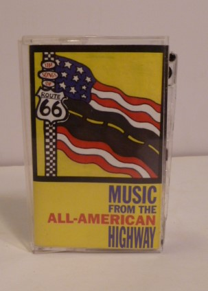 Music From the All-American Highway- Route 66. Sanger David.