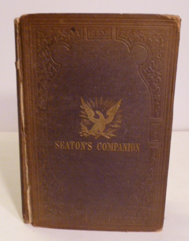 A Companion To Seaton's Map Of Palestine And Egypt. C. A. Alvord.