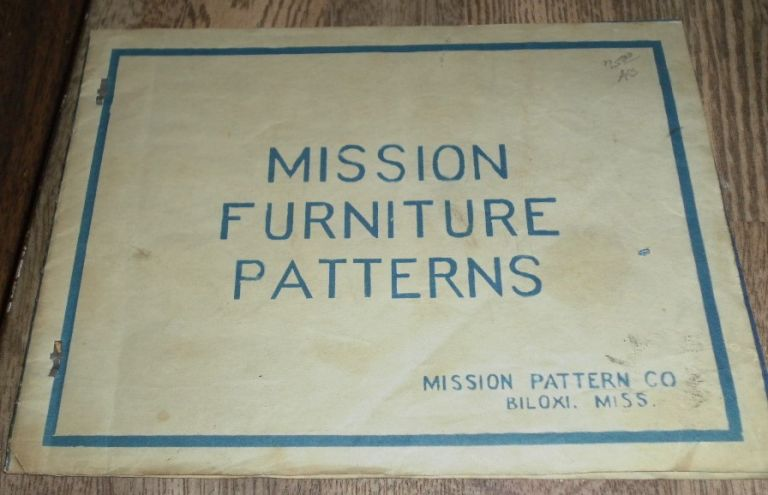 Mission Furniture Patterns. Mission Pattern Company.