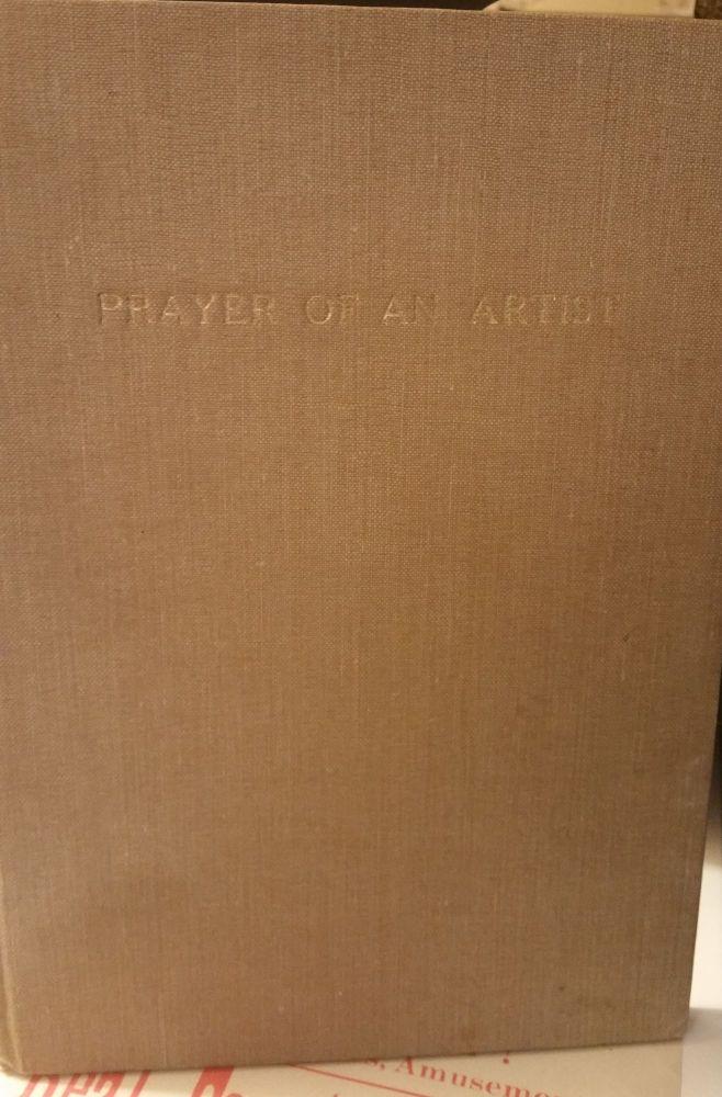 Prayer of an Artist. Phyllis Taunton Wood.