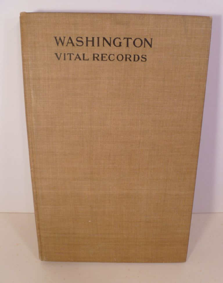 Vital Records of Washington, Massachusetts to the Year 1850. I. E. Ware.