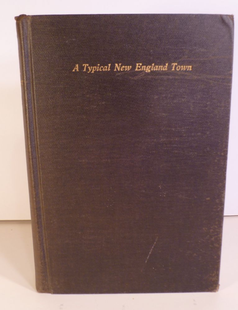 A History of Cornwall, Connecticut. A Typical New England. Town. B. D. Starr, Edward C.