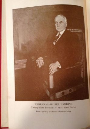 Life and Times of Warren G. Harding, Our After War President