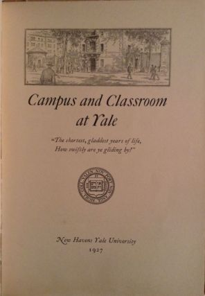 Campus and Classroom at Yale