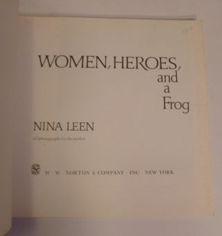 Woman, Heros, And A Frog