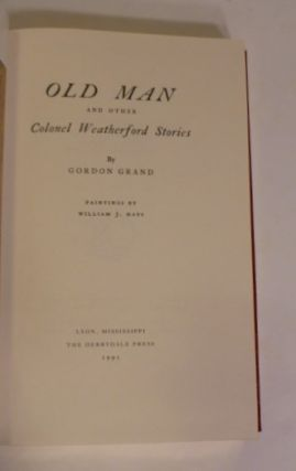 Old Man and Other Colonel Weatherford Stories