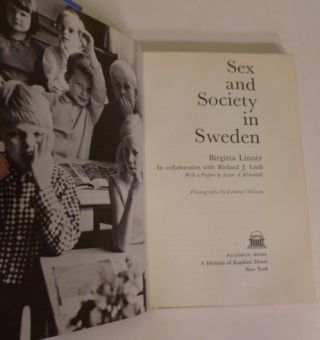 Sex and Society In Sweden