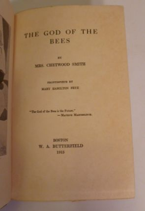 The God Of The Bees