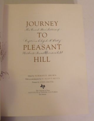 Journey To Pleasant Hill