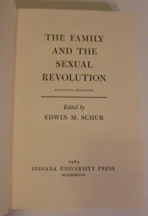 The Family And The Sexual Revolution
