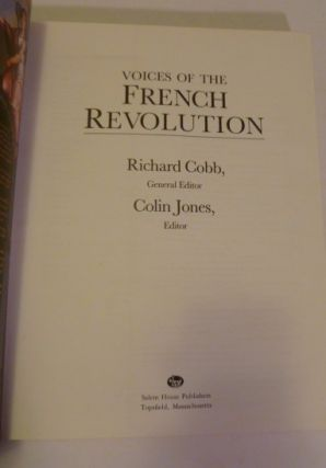 Voices Of The French Revolution