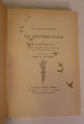 The Northfield Edition; The Shepherd Psalm