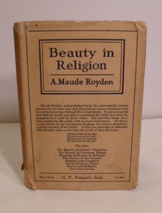 Beauty in Religion. A. Maude Royden.
