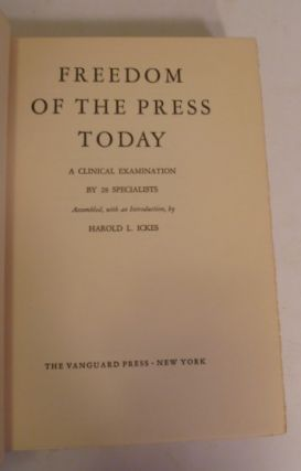 Freedom of The Press Today