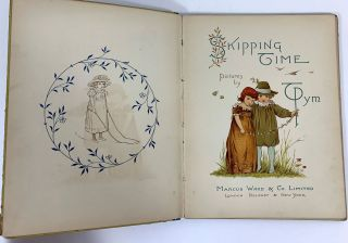 Skipping Time. Pictures By T. Pym.