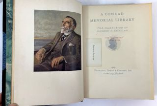 A Conrad Memorial Library. The Collection of George T. Keating.