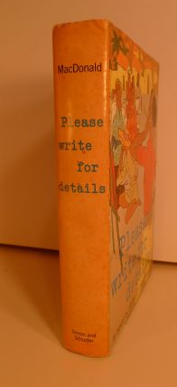 Please Write for Details