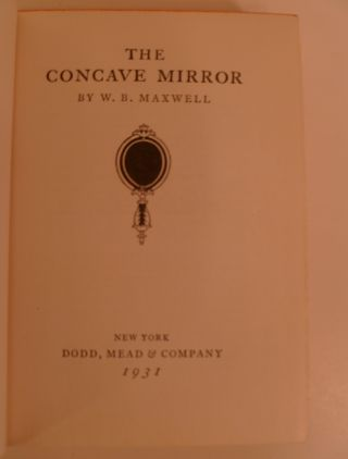 The Concave Mirror