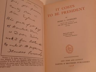 It Costs to be President