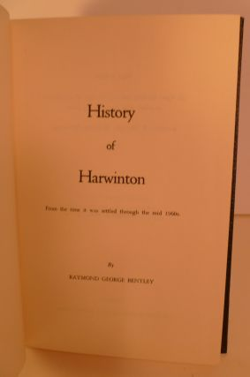 History of Harwinton. From the Time it Was Settled Through the Mid 1960's