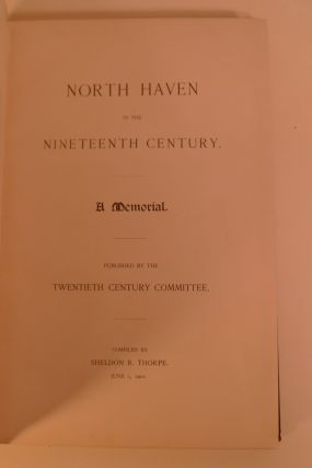 North Haven in the Nineteenth Century.
