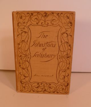 The Johnstons of Salisbury. With a Brief Supplement. Wm. Preston Johnston