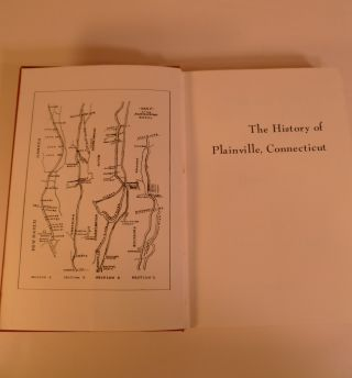 The History of Plainville Connecticut 1640-1918