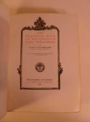 The Practical Book Of Decorative Wall-Treatments