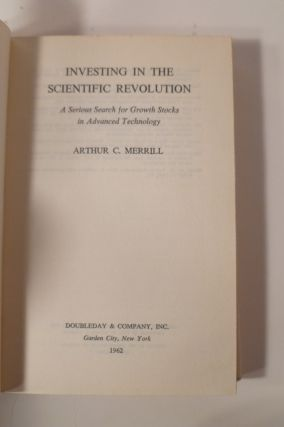 Investing In The Scientific Revolution