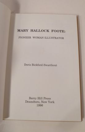 Mary Hallock Foote: Pioneer Woman Illustrator