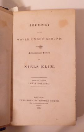 JOURNEY To The World Under Ground; Being The Subterraneous Crabels Of Niels Klim