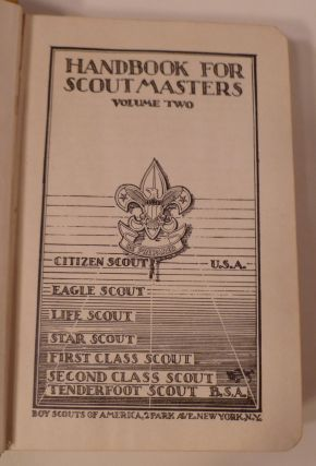 HANDBOOK FOR SCOUTMASTER: Volume Two