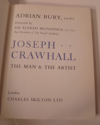 JOESPH CRAWHALL, The Man and the Artist
