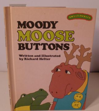 MOODY MOOSE BUTTONS. Richard Hefter