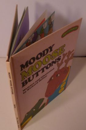 MOODY MOOSE BUTTONS