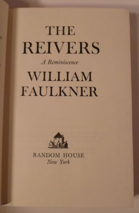 The Reivers. A Reminiscence.