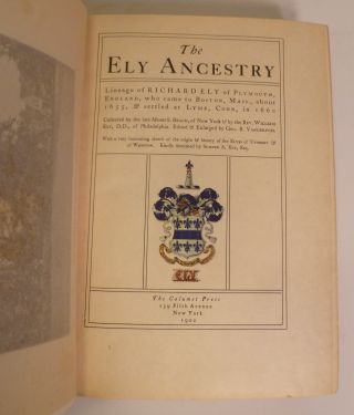 The Ely Ancestry